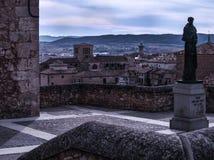 Город Cuenca, места всемирного наследия ЮНЕСКО стоковые изображения