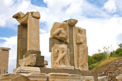 Город Ephesus стародедовский Стоковое Изображение RF