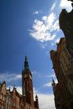 город gdansk Стоковое Фото