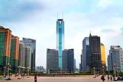 город guangzhou оси стоковая фотография rf
