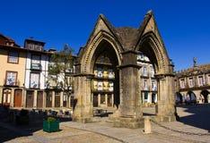 Город Guimares стоковое изображение rf