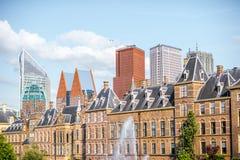 Город Haag в Netherland Стоковая Фотография