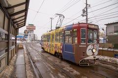 Город Hakodate в южном Хоккаидо, Японии стоковое изображение rf