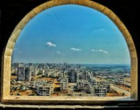 Город Homs в Сирии стоковое фото rf