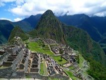 Город Inca, Machu Picchu Стоковое Изображение