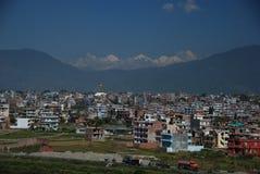 город kathmandu стоковое изображение rf