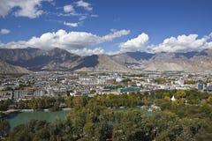 город lhasa Тибет стоковые изображения
