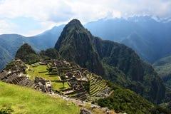 Город Machu Picchu Inca Стоковая Фотография RF
