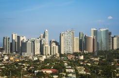 Город manila philippines makati bonifacio форта Стоковое Изображение