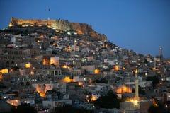Город Mardin в Türkiye Стоковая Фотография RF