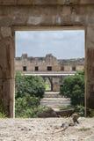 Город Maya Uxmal Стоковое фото RF