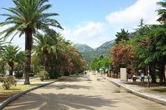 город montenegro штанги Стоковая Фотография RF