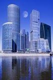 город moscow делового центра Стоковое Изображение RF