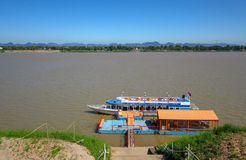 Город Nakhon Phanom стоковая фотография