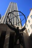 город New York атласа Стоковая Фотография