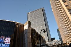 город New York зданий стоковые фото