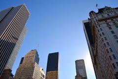 город New York зданий Стоковое Фото