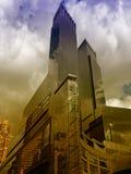 город New York зданий стоковые изображения rf