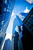 город New York зданий Стоковое фото RF