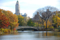 город New York осени Стоковое фото RF