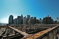 город New York Стоковое Изображение RF