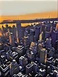 город New York Иллюстрация вектора