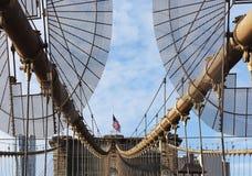 город New York brooklyn моста стоковые изображения rf
