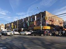 город New York chinatown стоковое фото rf