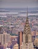 город New York chrysler здания Стоковые Фото