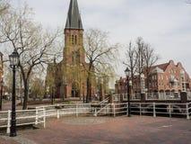 Город papenburg в Германии Стоковая Фотография