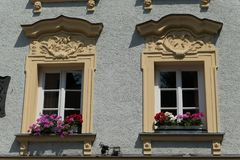 Город passau в Германии стоковое фото