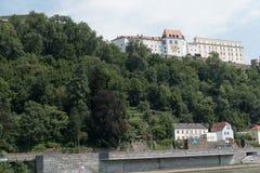 Город passau в Германии стоковые фотографии rf