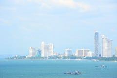 Город Pattaya в Таиланде Стоковое фото RF
