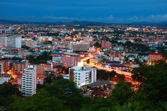 город pattaya Таиланд Стоковая Фотография