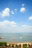 город pattaya Стоковое Изображение RF