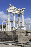 Город Pergamon в Bergama, Турция древнегреческия Стоковое Изображение RF