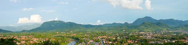 Город prabang Luang Стоковая Фотография RF