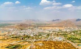 Город Pushkar от на стоковое изображение