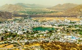 Город Pushkar от на стоковая фотография