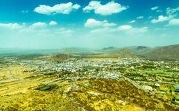 Город Pushkar от на стоковое фото