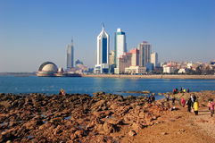 Город Qingdao стоковые изображения rf