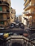 Город Reggio Калабрии террасный стоковые изображения