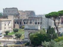 Город Roma Италии стоковое фото rf