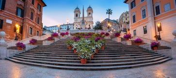 город rome стоковое изображение