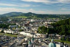 город salzburg стоковое изображение rf