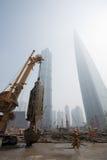 город shanghai Стоковые Фото