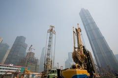 город shanghai Стоковое фото RF