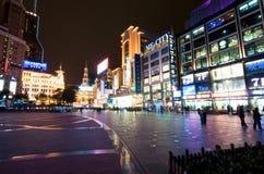 город shanghai Стоковые Изображения RF