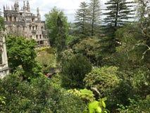 Город Sintra королевского дворца Стоковые Изображения RF