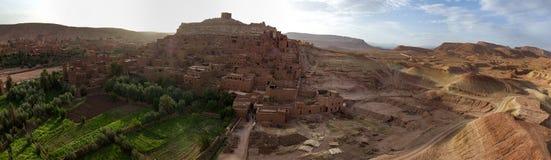 Город Spriteв Ouazazate, Ait Бен Haddou, Marocco стоковое фото rf